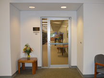 BHG Library Entrance